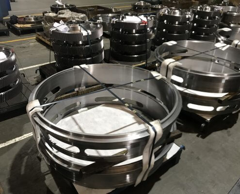 Heavy duty crane gearbox manufacturers
