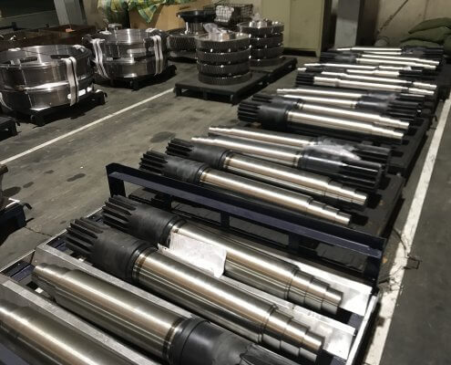 china Large size pinions up to 4000 mm in diameter manufacturer