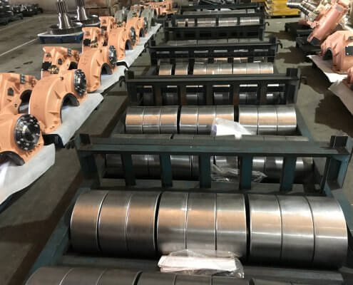 customized Bevel-helical gearboxes for belt conveyor drives manufacturers