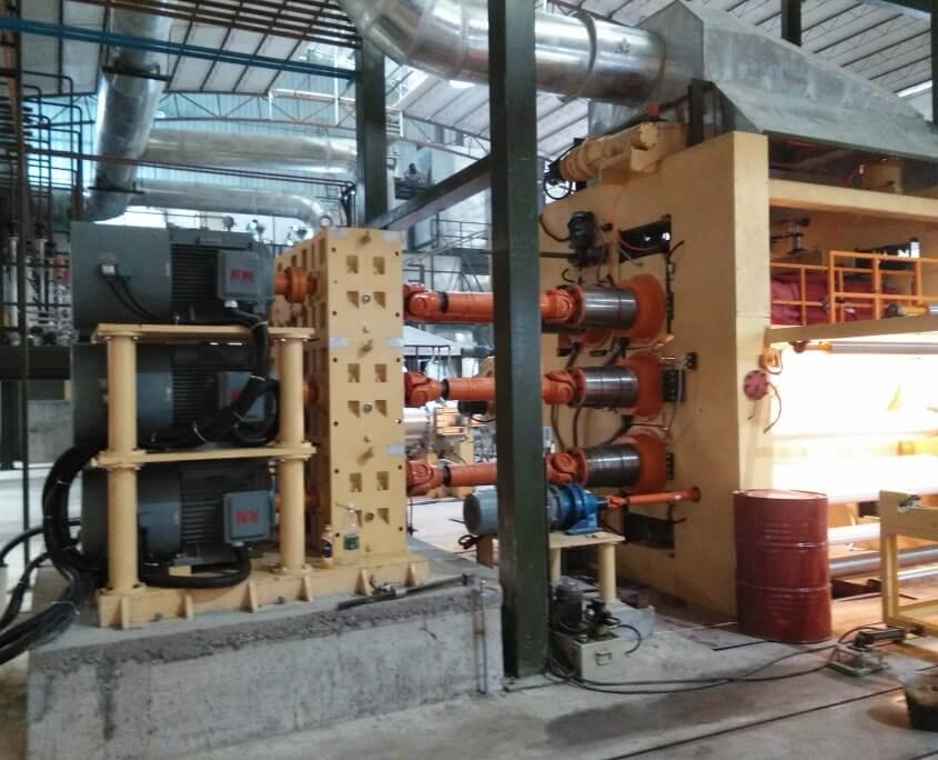 gearbox for extruder machine