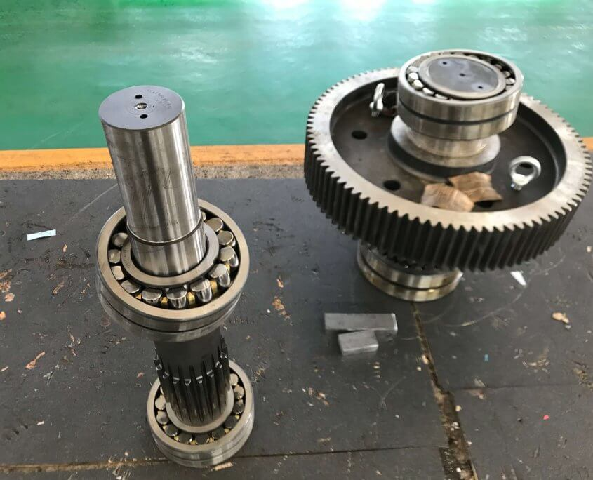 gears and shafts